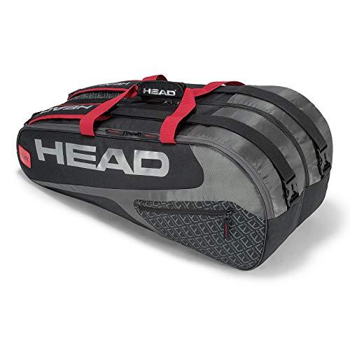 HEAD Elite Supercombi 9 Racquet Bag - Pack Bag 9 Racquet