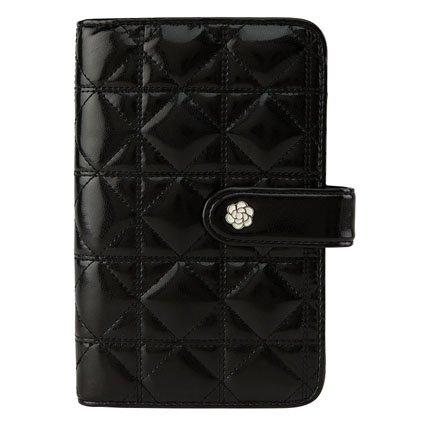 Franklin Pocket Macaroon Binder - Black