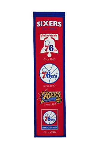 fan products of NBA Philadelphia 76ers Heritage Banner