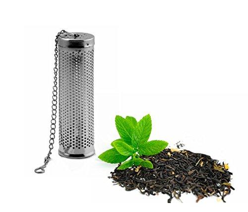 Teebrüher Teesieb Teefilter Edelstahl - geeignet für Flaschenhälse