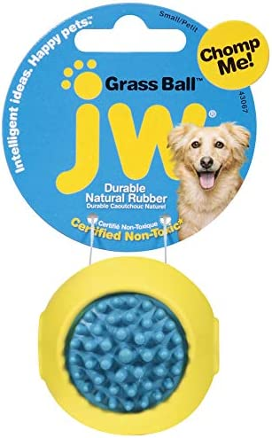 [해외]JW Pet Company Grass Ball Dog Toy Small (Colors Vary) / JW Pet Company Grass Ball Dog Toy, Small (Colors Vary)
