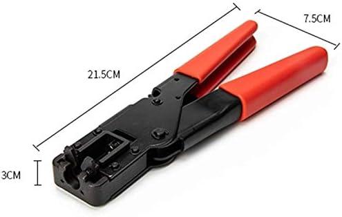 SYF-SYF 修復ツール、簡単に正確な押す圧着ペンチ同軸ケーブルFヘッド押出を運ぶために ペンチ