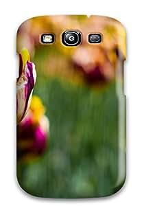 1380019K64484738 Case Cover Galaxy S3 Protective Case Botanical Garden Tulips