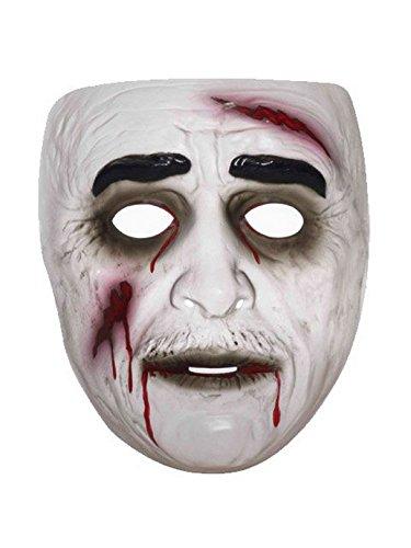 Forum Novelties Transparent Male Zombie Mask Standard ()