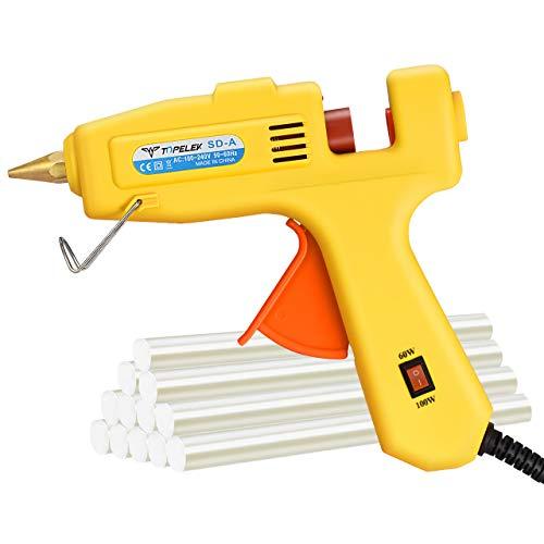Cordless Mini Glue Gun Topelek Hot Glue Gun With 12 Glue