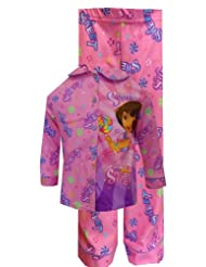 Dora the Explorer Super Sweet Pajama Set for Little Girls
