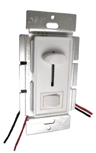 PWM LED Slide Dimmer with Switch 8A (Wall Plate) 12v/24v DC