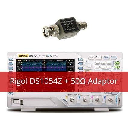 Amazon com: Rigol DS1054Z Kit2 Digital Oscilloscope with Extra 50