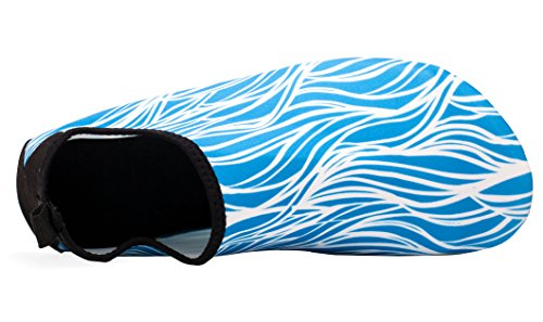 Giotto Barfuß Quick-Dry Frauen Männer Kinder Wassersport Schuhe Haut Aqua Socken für Schwimmen Beach Pool Surf Yoga Ein blaues