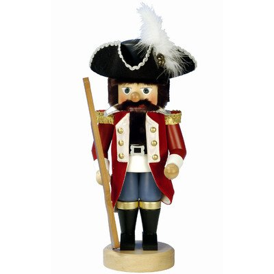 0-639 - Christian Ulbricht Nutcracker, Toy Soldier from ''''Nutcracker Suite'''' - 15''''H x 7''''W x 7''''D