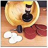 "2"" BOWL SANDER DISC REFILL - 220 GRIT - 10PK By Peachtree Woodworking - PW19"