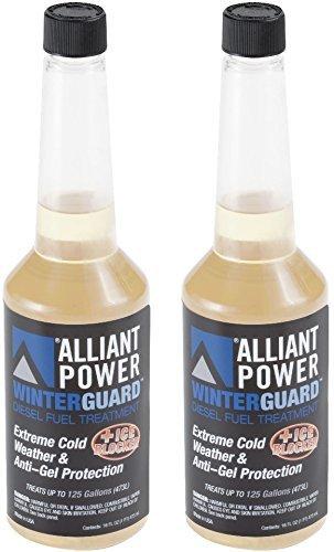 Alliant Power WINTERGUARD Diesel Fuel Treatment - Pack of 2 Pints # AP0506 4333059418