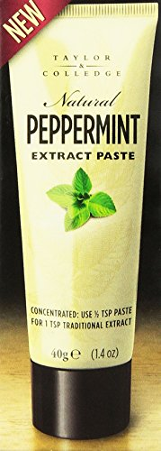 Taylor & Colledge Extract Paste, Peppermint, 1.40 Ounce