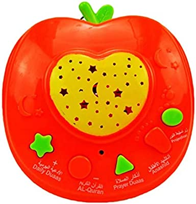 Russian Learning Machine Educational Toy Apple With Light Flashing Tales Music