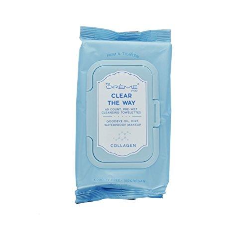 The Crème Shop - Clear the way! Korean 60 count Pre-Wet towelettes (Collagen)
