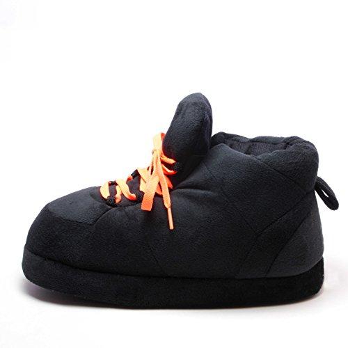 Hausschuhe Größe 41 Schnürsenkel EU Pantoffeln Sleeper'z Rutschfeste Lustig Orange Schwarze 43 dXqX4wY