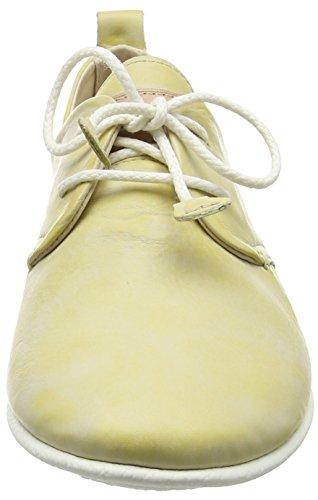 Pikolinos 917-7123kr Calabria Schoenen Vrouwen Lage Schoenen Veterschoenen Geel (geel)