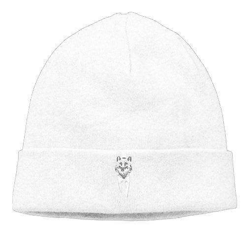 Hip-Hop Cap Mr Wolf Unisex Fashionable Beanie Knit - Customize Customise