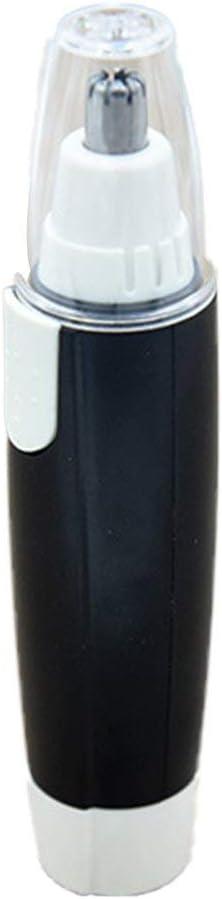 ghfcffdghrdshdfh - Cortapelos Nariz y Oreja - 2020 Profesional Nose Hair Trimmer sin Dolor Cuchillas de Acero Inoxidable Afeitadora para Nariz Oído y Pelo Facial Cabeza Desmontable Lavable(Negro)
