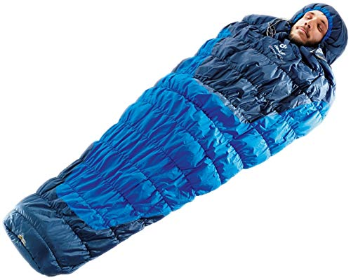 Deuter Exosphere +2° Saco de Dormir, Unisex Adulto, Azul (Cobalt/Steel), Talla Única: Amazon.es: Deportes y aire libre