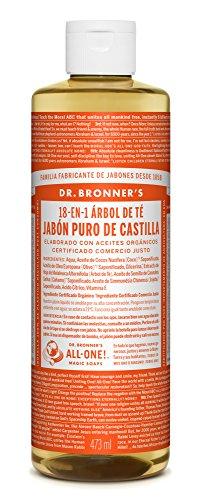 Jabon Liquido de Castilla 16 Onzas (Árbol de Té)