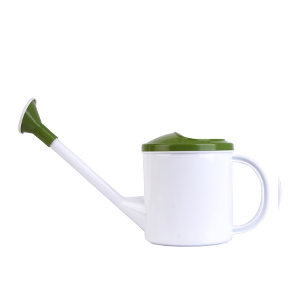 Corldif Long Spout Watering Can Plastics Spriking Can Garden Tool Watering Bottle (1.5L, Green)