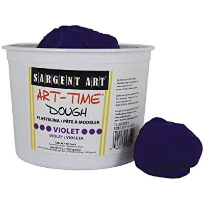 Sargent Art 85-3342 3-Pound Art-Time Dough, Violet: Arts, Crafts & Sewing