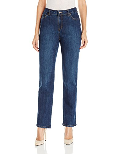 Gloria Vanderbilt Women's Amanda Classic Tapered Jean, Scottsdale Wash, 16 Tall