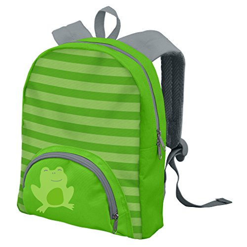green sprouts Backpack, Green Frog, 8.625