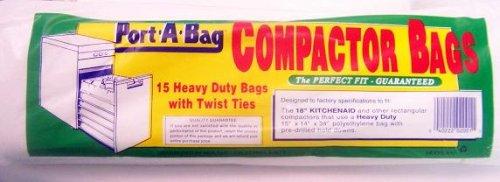 Port A Bag 18u0026quot; TRASH COMPACTOR BAGS ...