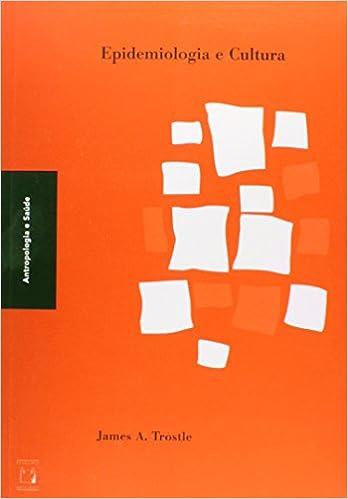 Book Epidemiologia e Cultura - Colecao Antropologia e Saude