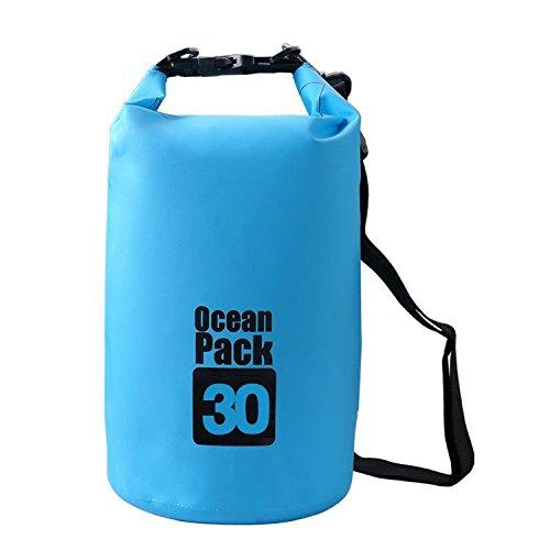 EliteShine Casual Bags Daypack Daily Use Bags Shoulder Bags Rucksack Backpacks (30Litre Blue)
