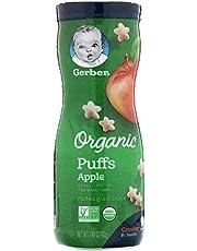Gerber, Organic Puffs, Apple, 1.48 oz (42 g) - 2724717969952