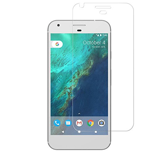 BONUM Google Pixel Screen Protector, 9H Hardness Shatter Proof Easy to Install Tempered Glass - 3 Piece