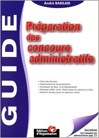 Livre gratuits Guide de préparation des concours administratifs pdf