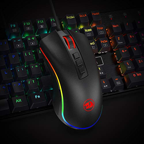 Redragon M711 Cobra Gaming Mouse with 16 8 Million RGB Color