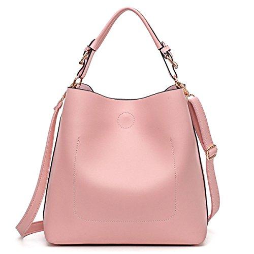 à Paquet Oblique à Sacs Femmes Bandoulière Main MYLL Solid Mode Sac Croix pink Color xR1q16