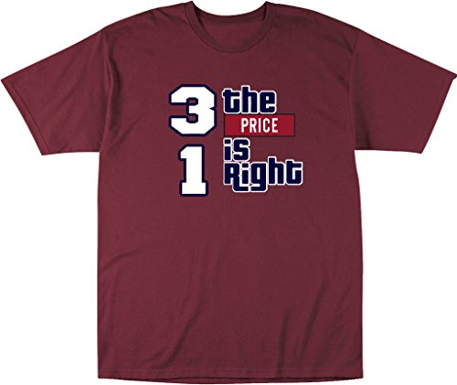 """Carey Price Montreal Canadiens """"RIGHT PRICE"""" T-Shirt ADULT 2XL"""
