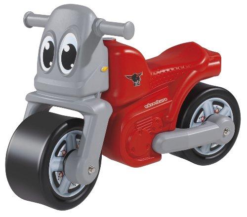 Kindermotorrad Kippsicher Breitreifen mit Federung für Kinder ab 18 Monaten, belastbar bis 25 kg: Baby Rutscher Rutschauto Kinder Motorrad Laufrad