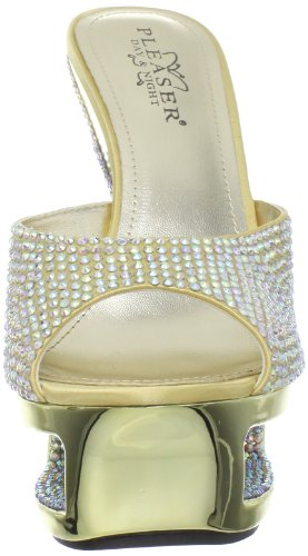Pleaser Day & Night - Sandalias mujer dorado - dorado