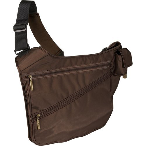 Urban Sling Diaper Bag in Chocolate Brown