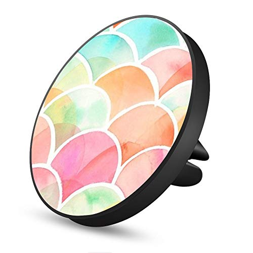 Rainbow Scales Magnetic Mount, Air Vent Magnetic Car Mount Phone Holder, for Cell Phones and Mini Tablets with Fast Swift-Snap Technology