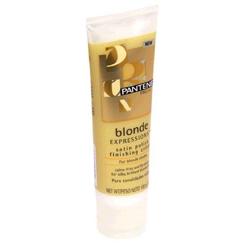 Pantene Pro-V Blonde Expressions Satin Polish Finishing Creme for Blonde Shades, 3.5 oz (100 g)