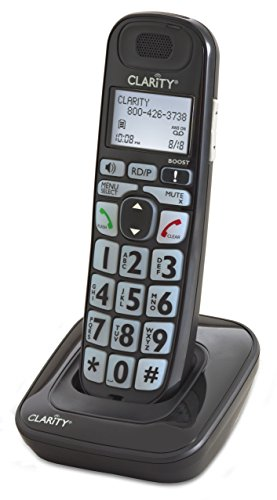 CLARITY 52703 Additional Handset Black product image