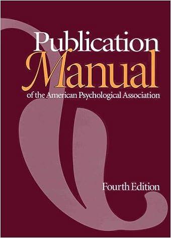 american psychologica association