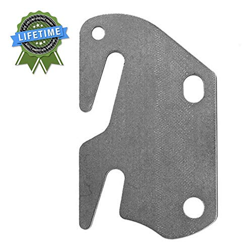 Bed Claw #10 Hook Plates for Wooden Beds, Set of 4 ()