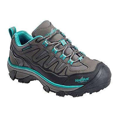 Nautilus 2268 Women's Waterproof Athletic Hiker Shoes Steel Toe Gray