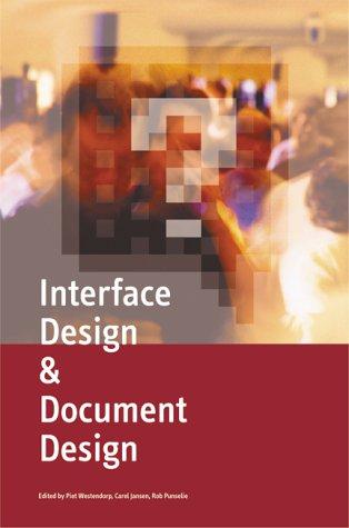 Interface Design & Document Design. pdf epub
