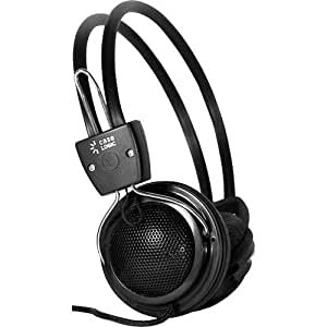 case logic bass boost headphones with inline mic computers accessories. Black Bedroom Furniture Sets. Home Design Ideas