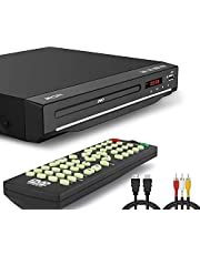 225MM DVD VCD Speler, 1-6 Multi-Regio's Gratis, HDMI-poort, USB-poort, afstandsbediening, Divx